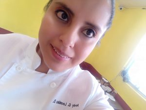 Chef Arely Domínguez